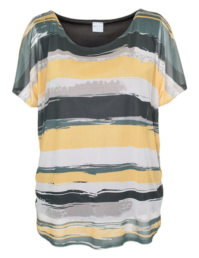 MITZY Layered Stripe Top