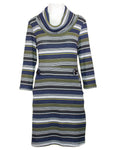 Stripe Tab Side Dress
