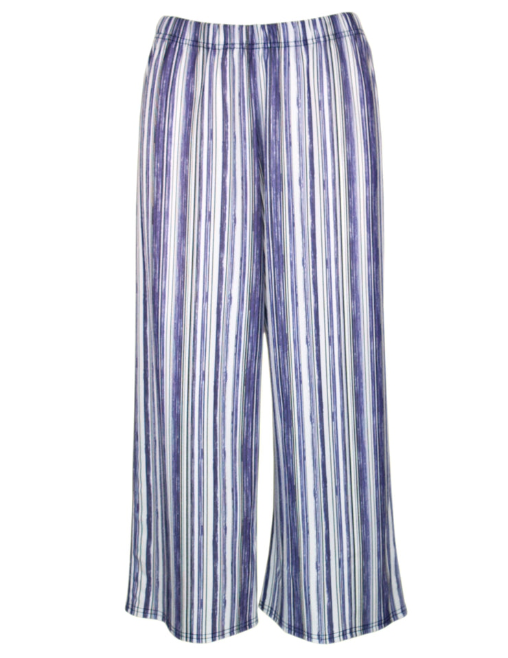 MITZY Stripe Cropped Trouser