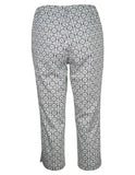 MITZY Tile Print Cropped Trouser