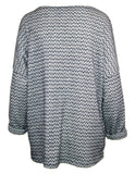 MITZY Textured Tunic With Scarf