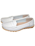 Leather Moccasin Shoe