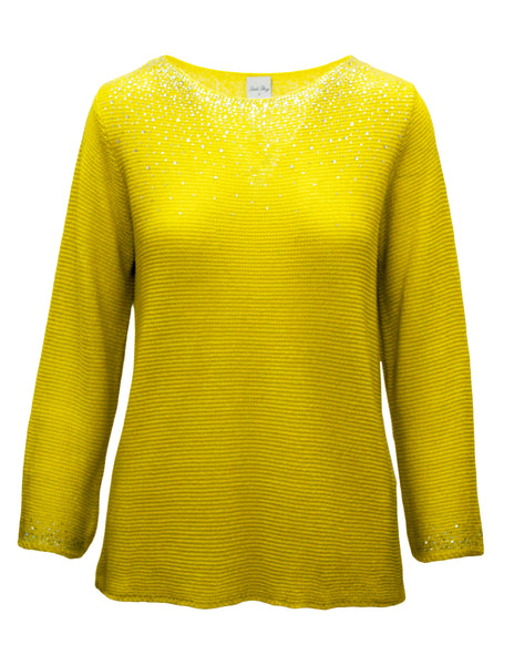 Jumper With Scatter Gem Detail