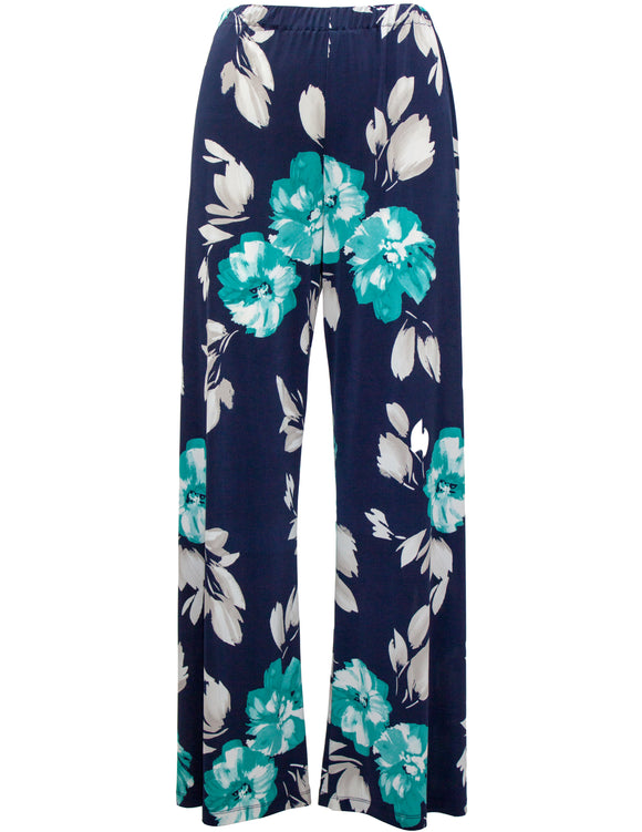 Large Floral Palazzo Trouser