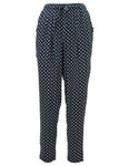 Diamond Print Te Waist Trousers