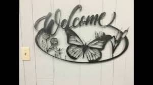 Welcome with Butterflies