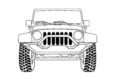 JK Wrangler Jeep Bolts