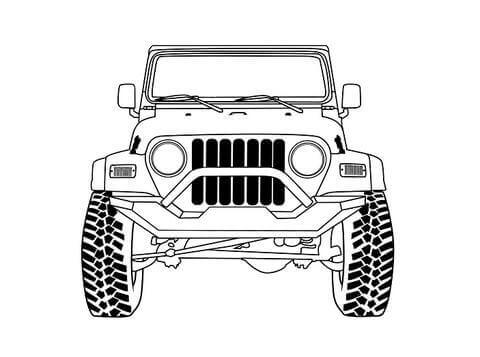 TJ Wrangler Jeep Bolts