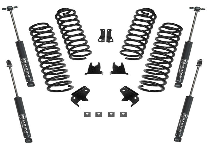 JK Wrangler 2.5 inch 4-Door SuperLift Lift Kit