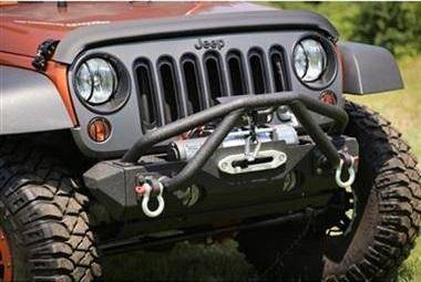 Front Bumper - Rugged Ridge Double X Striker For Front Modular Bumper - RUG11540.25