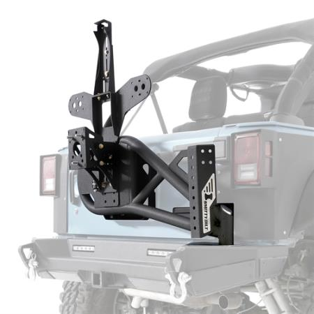 Smittybilt XRC/SRC Gen2 Bolt-On Tire Carrier - S/B76857