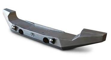 Poison Spyder Brawler Full Width Front Bumper with Shackle Tabs - PSC17-64-020-D