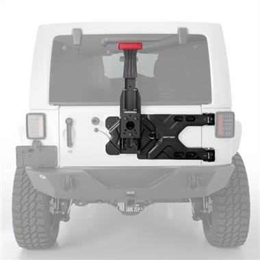 Smittybilt Pivot Heavy-Duty Oversize Tire Carrier - S/B2843