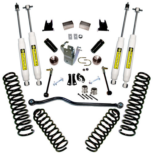 JK Wrangler 4 inch 2-Door & 4-Door SuperLift Lift Kit