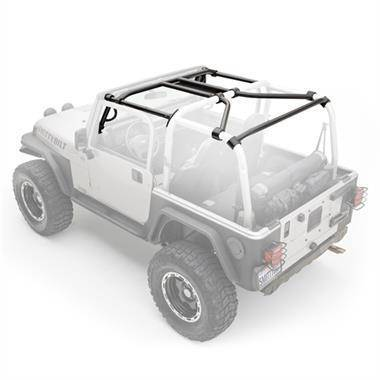 Roll Cage - Smittybilt SRC Roll Cage Kit TJ Wrangler & Rubicon - 7-Piece - 76900