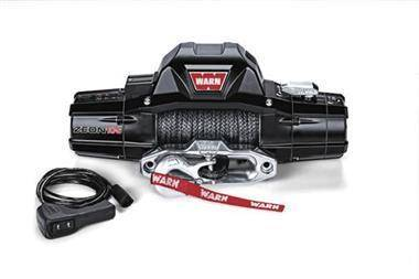 Winch - Warn ZEON 10-S 10000lb Recovery Winch With Spydura Synthetic Rope - 89611