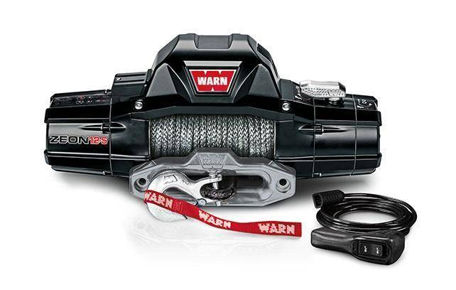 Winch - Warn ZEON 12-S Recovery 12000lb Winch With Spydura Synthetic Rope - 95950