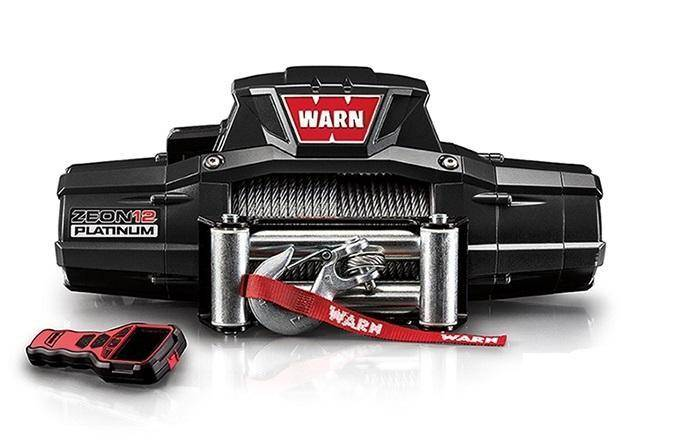 Winch - Warn ZEON Platinum 12 Recovery 12000lb Winch - 92820
