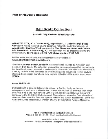 ACFW PRESS RELEASE - DELL SCOTT