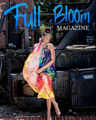 Plaiditude Collection feature in Full Bloom Magazine November 2018
