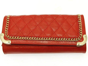 Red Chain Trim Clutch