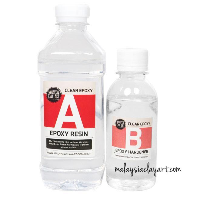 FAQ: What is the actual AB epoxy clear resin bottle measurement ?