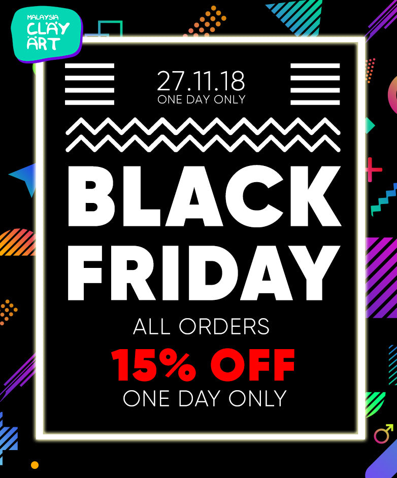 Black Friday Sales 15% OFF All orders