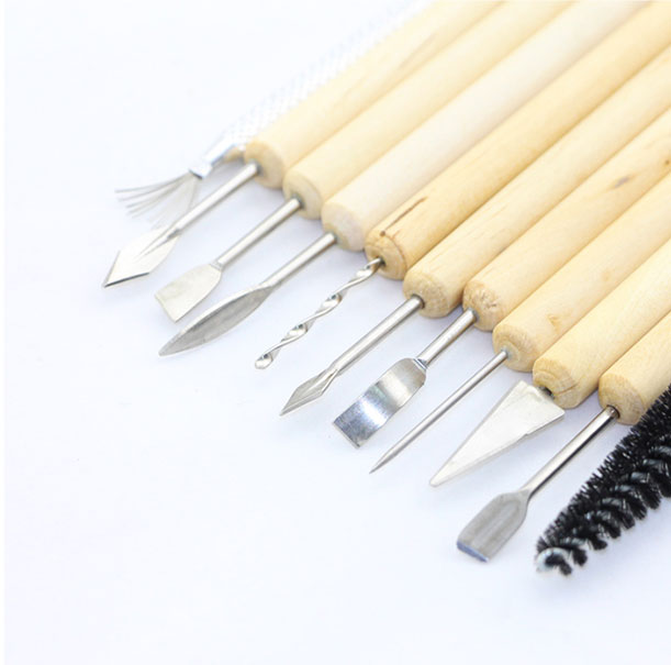11 PCS Clay and Sculpture Tool Set