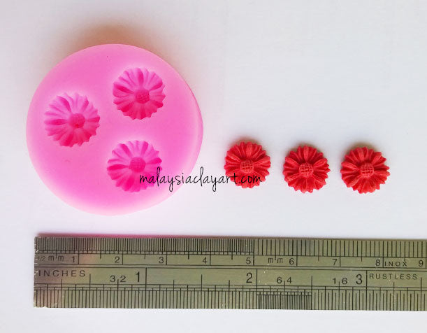 ni Daisy Flower Silicone Mold