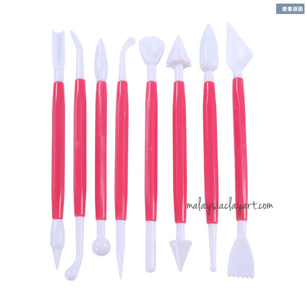8 Pcs Clay Modeling Tools Set | Cake Decorating Tools