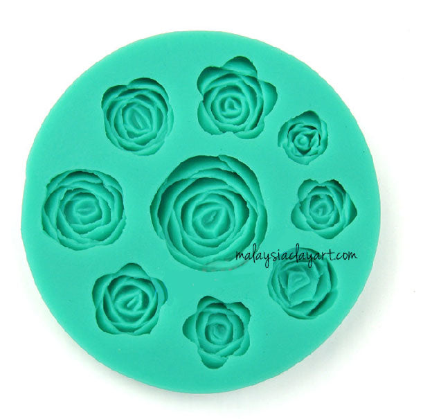 se Silicone Mold - 9 Designs