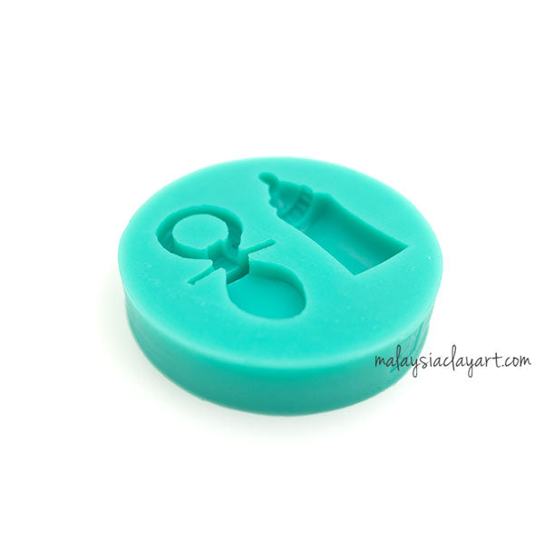 Baby Bottle Element Silicone Mold