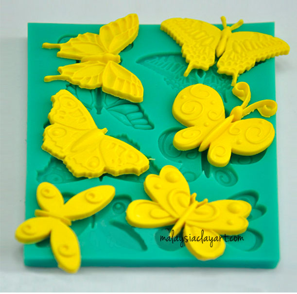 tterfly Silicone Mold