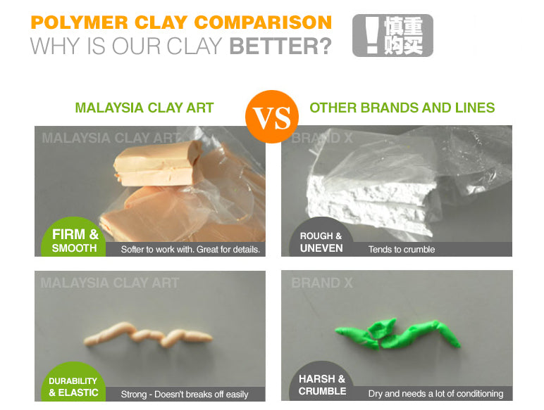 High Quality Polymer Clay