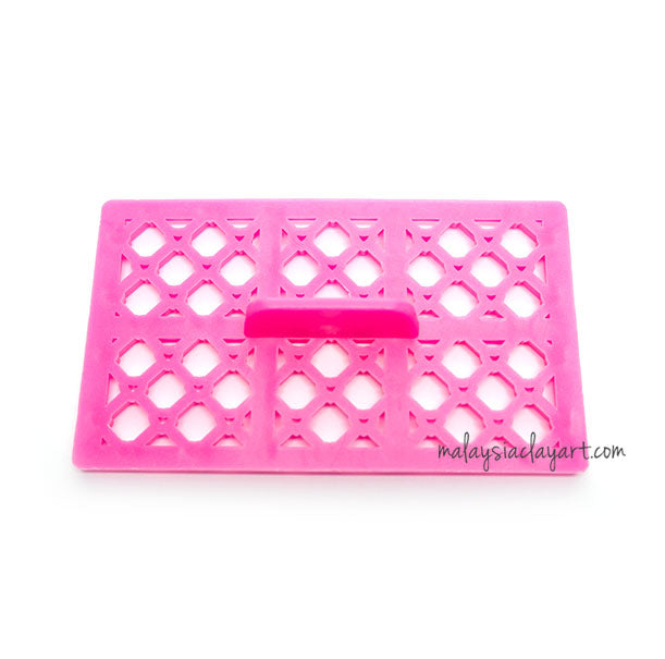 Love Crosshatch Embossing Stamp Impression Mat