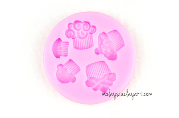 pcake Silicone Mold - 5 cavity