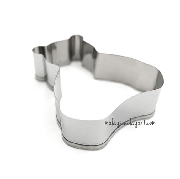 Cute Bear Shaped Stainless Steel Frame Cutter