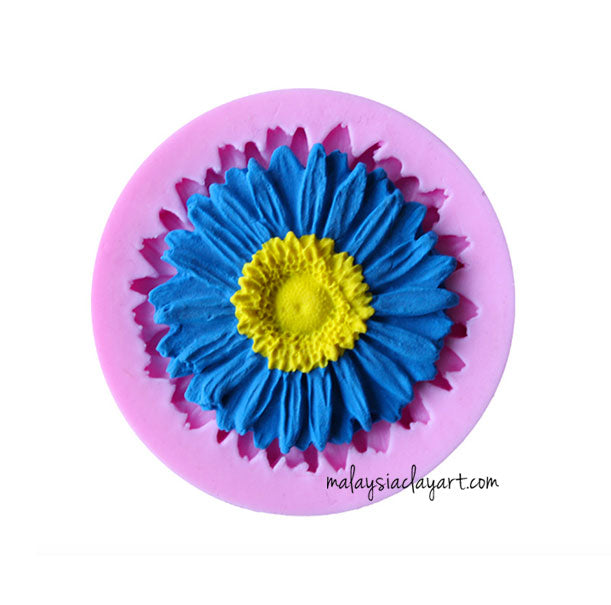 isy flower silicone mold