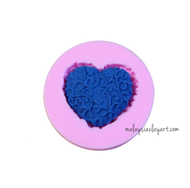oral Love Shaped Soap Silicone Mold