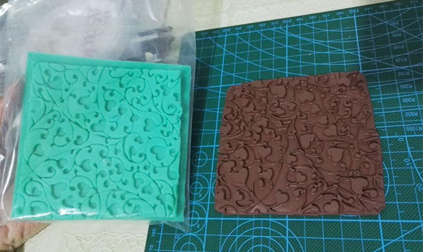 it Texture Matt Sutton Slice Silicone Mold