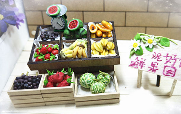 Miniature Fruit Stall | Vegetable Stall
