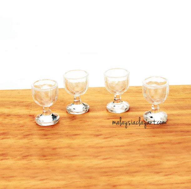 Miniature Wine Glass Dollhouse