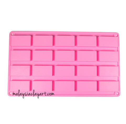 rectangular silicone mold