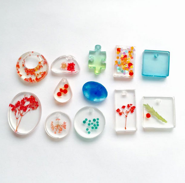 Silicone Mold For Pendant | Earrings | Gemstones