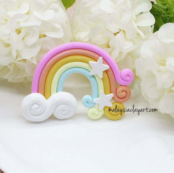 Rainbow Kawaii Decoden Cute Cabochon Charm