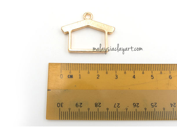 1 x DIY House Shape Setting Design Frame