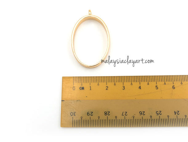 DIY Oval Shape Setting Design Frame
