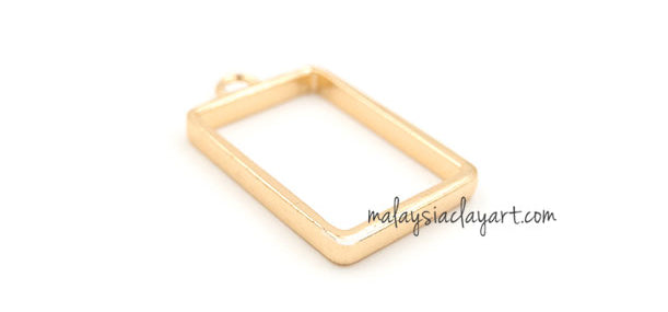 1 x DIY Rectangular Shape Setting Design Frame