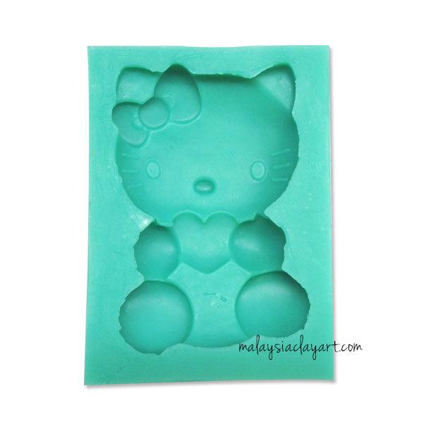 llo Kitty Silicone Mold