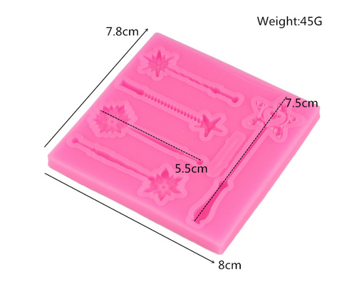 wand silicone mold